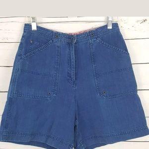Lauren Ralph Lauren Mama jeans shorts size 8